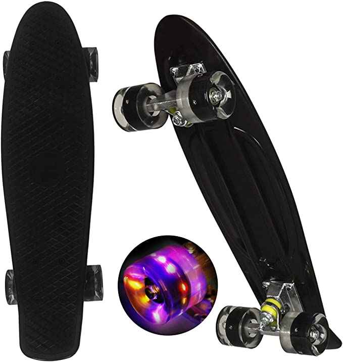 Penny Board 22 inch Skateboard is Suitable for Beginners and Teenagers Street Outdoor Sports Penny Boards for Girls and Boys