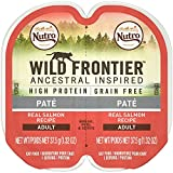 Nutro Wild Frontier High Protein Grain Free Pate Wet Cat Food, Salmon, 2.65 Oz. (24 Twin Packs) For Sale