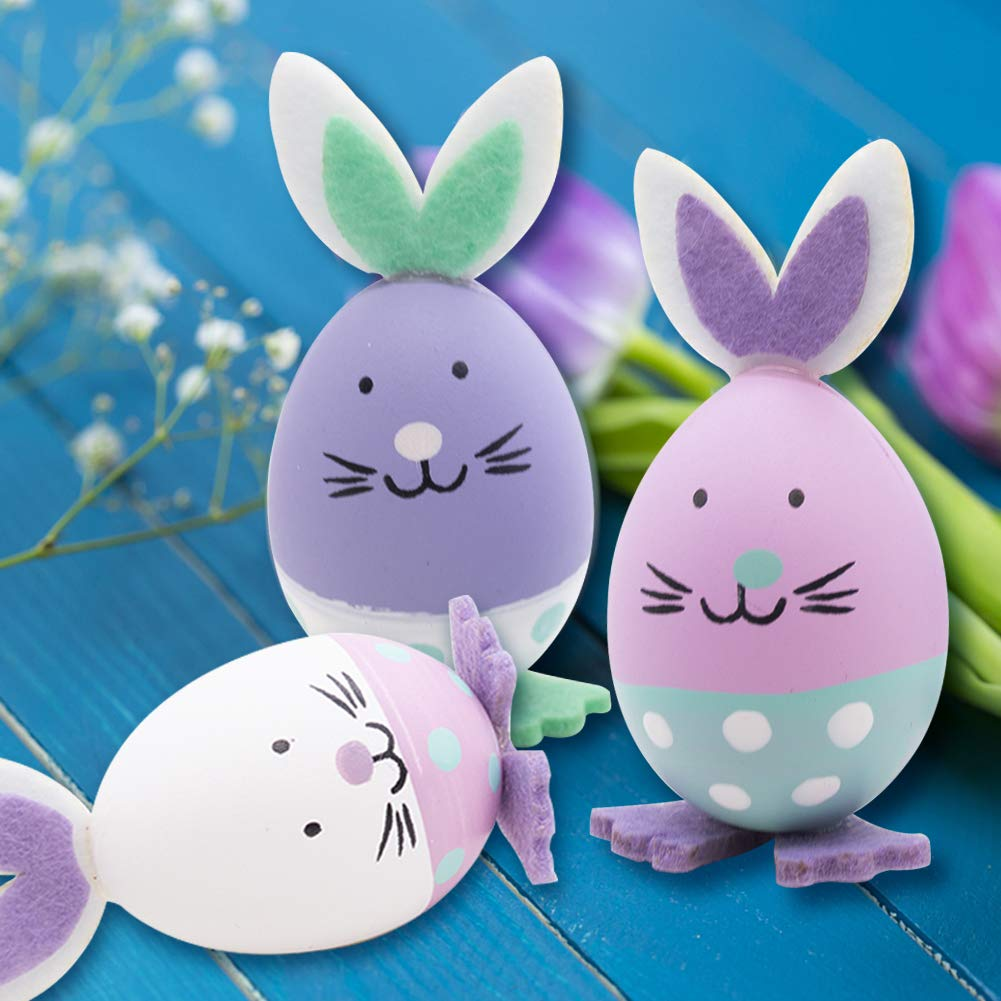 MCpinky 3 PCS Easter Egg Decoration for Easter Party