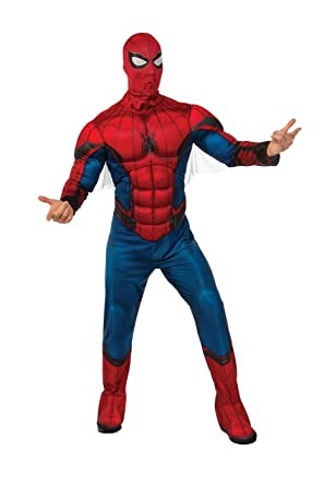 Rubies Spider-Man Homecoming - Spider-Man Adult Costume-XL  sc 1 st  Amazon.com & Amazon.com: Rubies Spider-Man Homecoming - Spider-Man Adult Costume ...