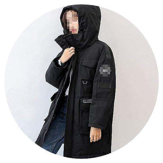 90% Duck Down Jacket Women Canada Style Parka Winter Coat Women Long Coats Loose Overcoat