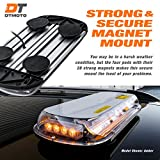 """DT MOTO 16"""" 132W LED Mini Light Bar - AMBER WHITE"""
