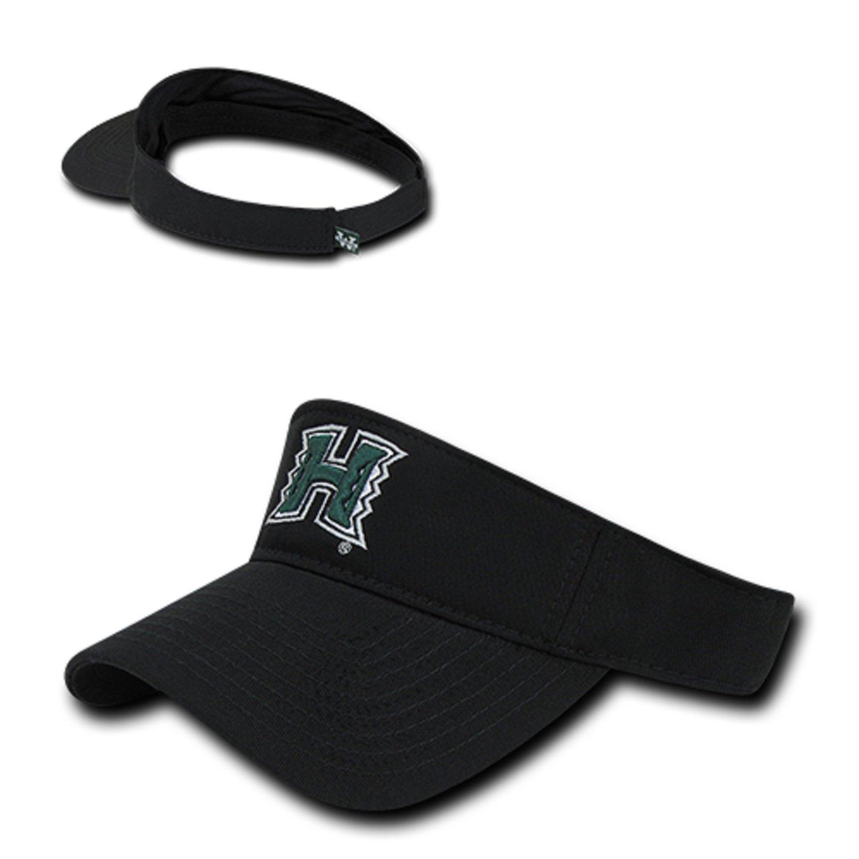 adba6699 BHFC University of Hawaii Rainbow Warriors Cotton Polo Sun Golf Tennis  Visor Cap Hat at Amazon Men's Clothing store:
