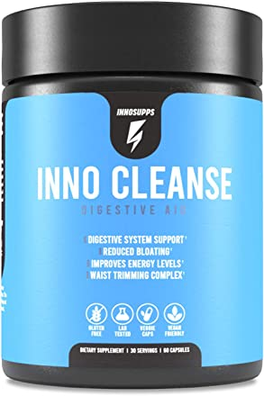 Inno Cleanse - Digestive System Support & Aid | Reduced Bloating | Improves Energy Levels | Wais…