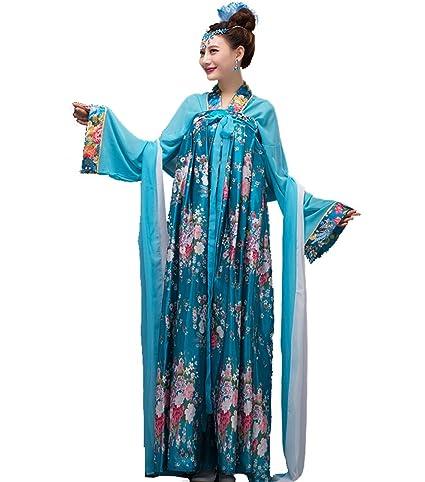 ZENGAI Antigüedad Ropa Viento Chino Hembra Pecho Vestido De Princesa Cintura Alta Mujeres Embarazadas Pijama Espectáculo