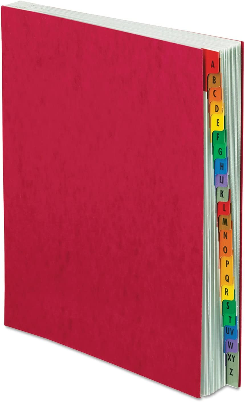 Red Pressboard Cover Pendaflex 11017 A-Z Expanding Desk File Letter Size