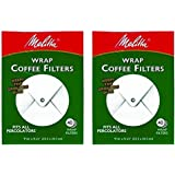 Melitta White Wrap Around Coffee Filter for Percolator (Pack of 2)