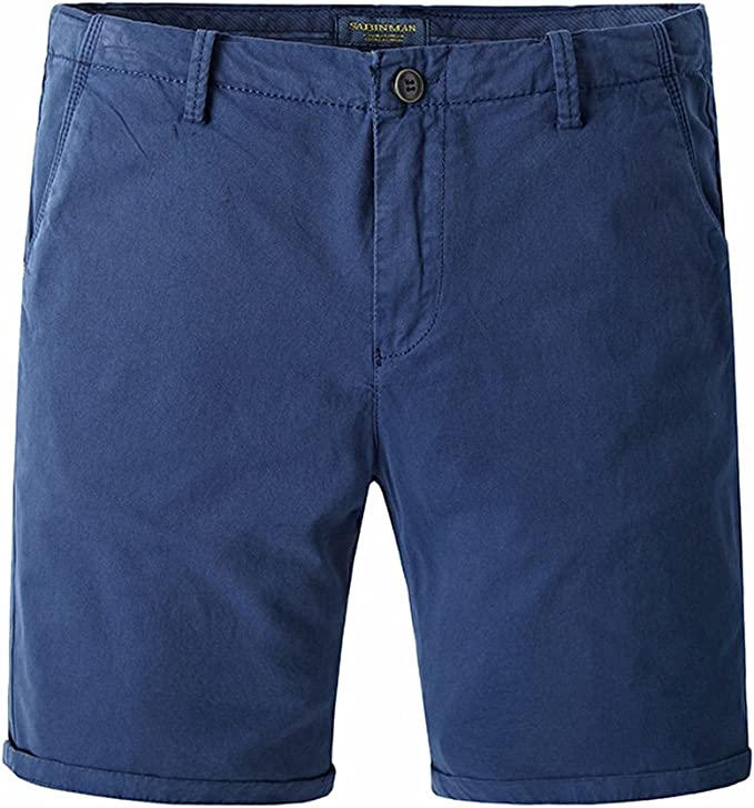 Pantalones Cortos para Hombre Patalón Corto Casual Slim Fit ...