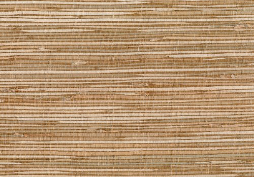 Brewster 53-65620 36-Inch by 288-Inch Masuyo - Hand Weaved Grasscloth Wallpaper, Mixed Color