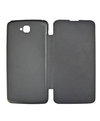 low priced 9a364 e5d2c COVERNEW Flip Cover for LG G Pro Lite D686 - Black FlipLGD686Black