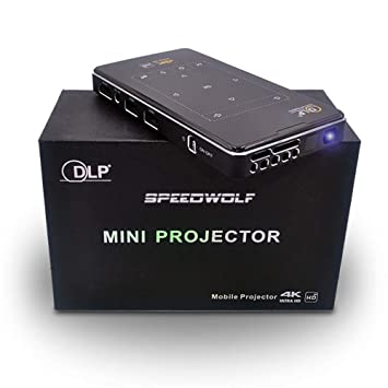 DLP Mini proyector Smart, 4k Android proyector Multimedia, Fuente ...