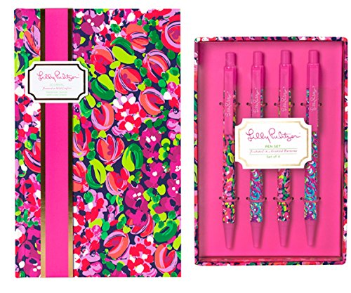 Lilly Pulitzer Pen Set and Decorative Writing Accessory (...