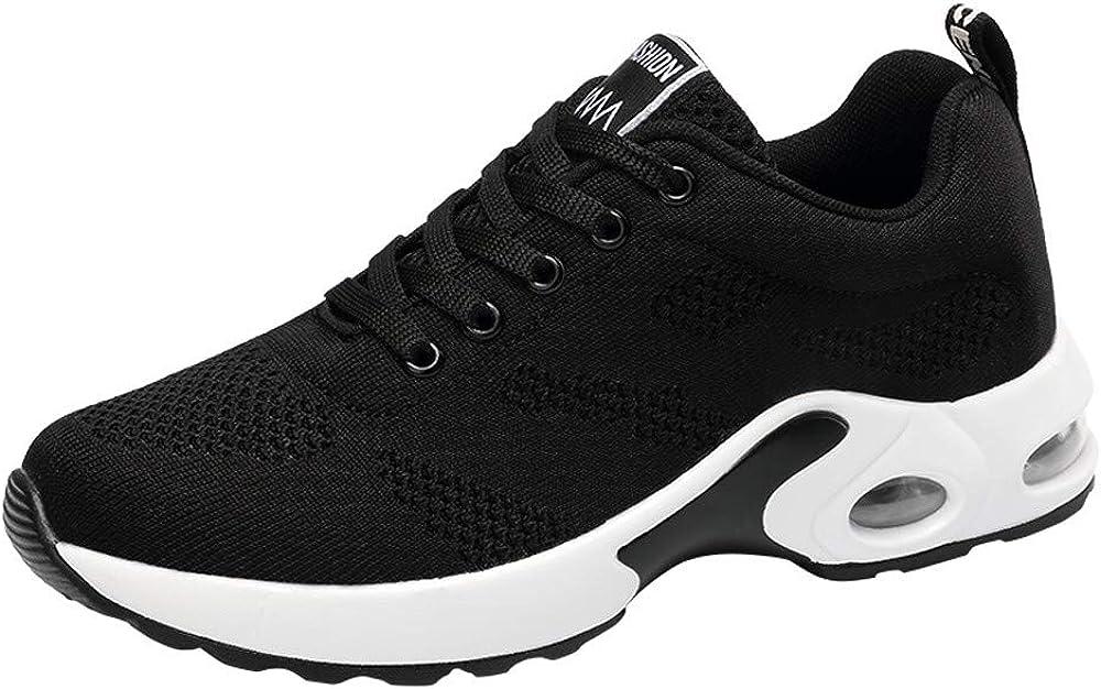 Zapatos Planos Deportes para Mujer,Sonnena Zapatos Respirables Zapatillas Deportivas Tejidas voladoras Zapatos con Correa Casuals Zapatos de Malla Estudiante: Amazon.es: Ropa y accesorios