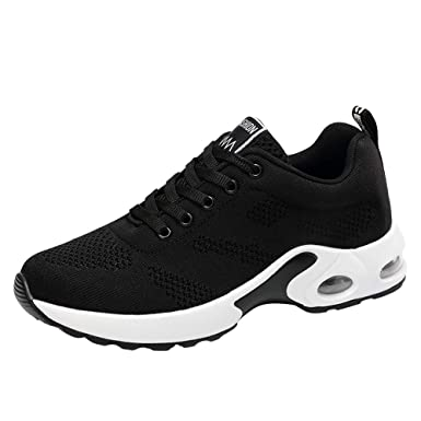 24d7fef0af1 Riou Breathable Shoe Flying Woven Sports Shoes Casual Running Shoes Student  Mesh Shoe  Amazon.co.uk  Clothing