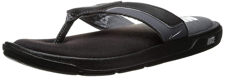 168be920ae5 NIKE Men s Comfort Thong Sandal Black Grey White Size 12 M US