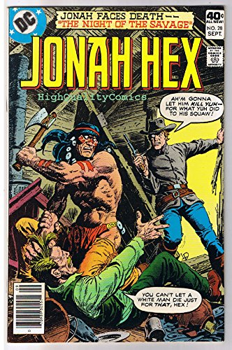 JONAH HEX #28, NM-, Night of the Savage, Scar, 1977, more JH in store ()