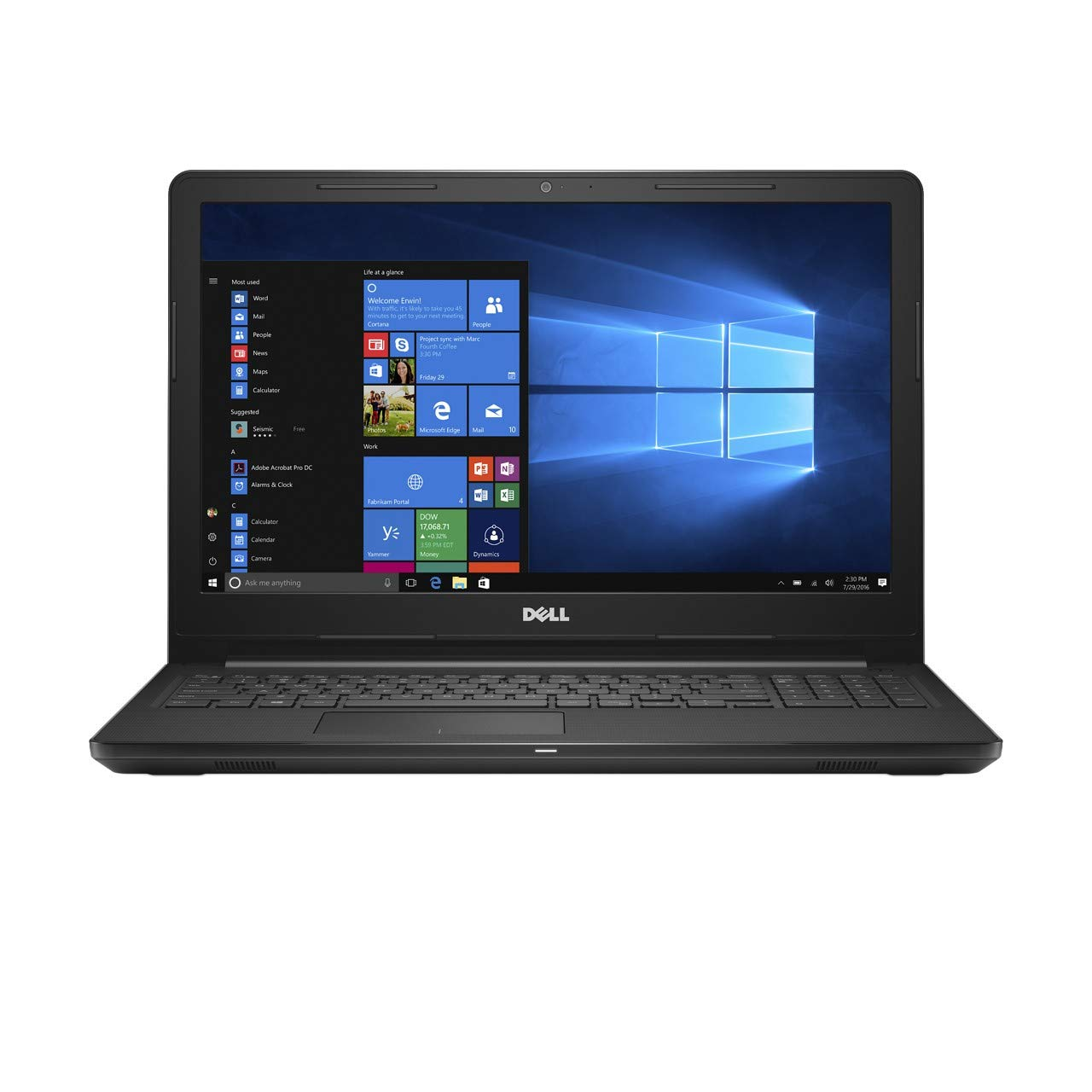 Buy Dell Inspiron 3565 AMD E2 7th Gen 15.6-inch Laptop (4GB 1TB HDD   Windows 10 Black 2.5kg) Online at Low Prices in India - Amazon.in 595fe317f