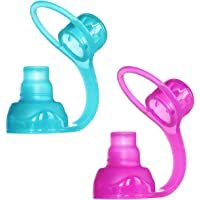 ChooMee SoftSip Food Pouch Top | Baby Led Weaning | No Spill Flow Control Valve, Protects Childs Mouth, 100% Silicone…