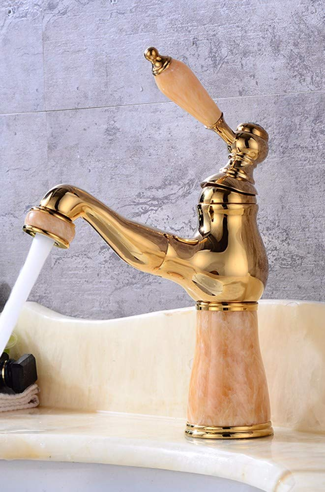 6 Hlluya Professional Sink Mixer Tap Kitchen Faucet Copper, jade, pull out and sink, hot and cold, and the sink Faucet 18