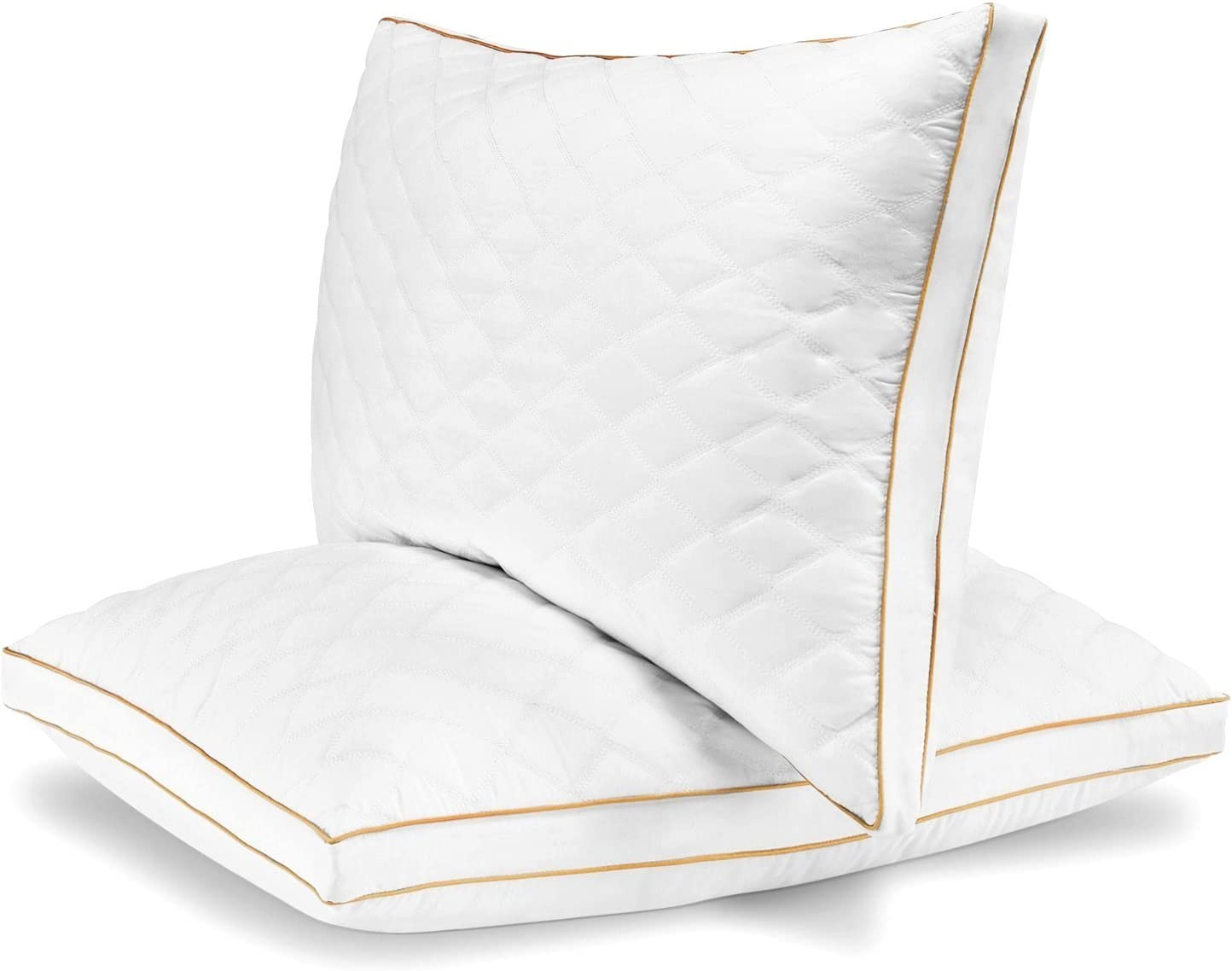 Italian Luxury Quilted Pillow King Set Of 2 Home Kitchen Amazon Com