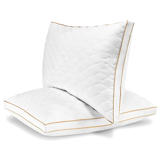 Italian Luxury Hotel Plush Gel Fiber Filled Pillow - The Affordable and Amazingly Soft