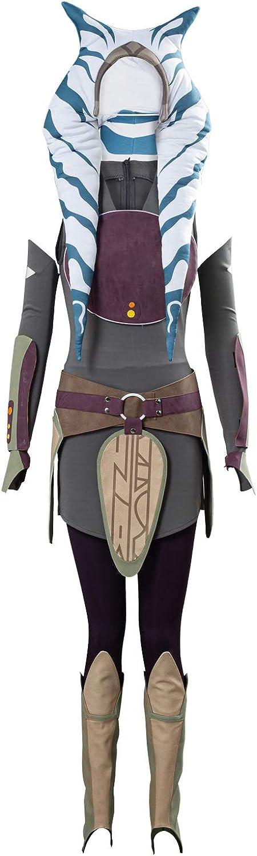 SUPERCOS Ahsoka Tano Outfit Anakin Max Las Vegas Mall 71% OFF Dress Full Wars Set Clone Hal