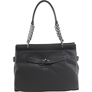 Guess Tote Bag On Sale, Black, polyurethane, 2017, one size