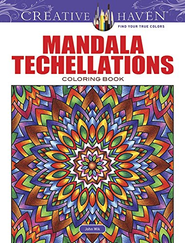 Price comparison product image Creative Haven Mandala Techellations Coloring Book (Adult Coloring)