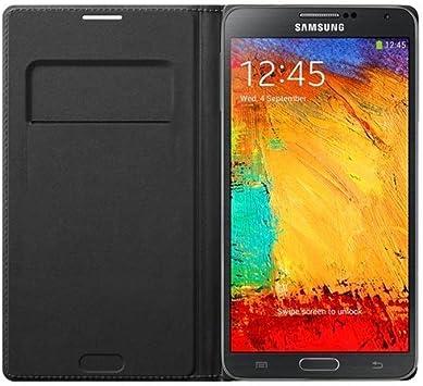 Samsung Wallet Flip - Funda para móvil Galaxy Note 3 (Incluye ...