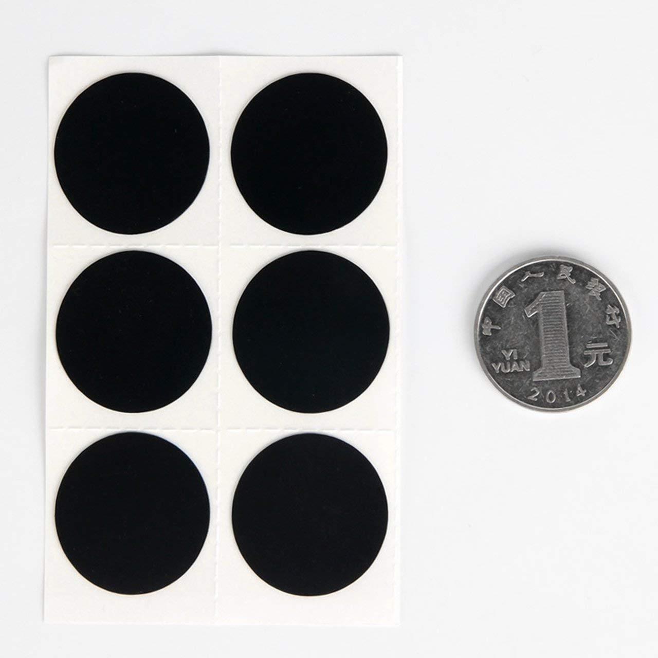 Noir Jasnyfall Nouveau No Glue Needed V/élo V/élo Pneu Crevaison Outil De R/éparation Kit Sticker-Patch