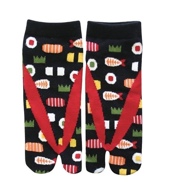 Los Angeles quantità limitata prezzo ridotto Samurai market Calze Tabi di Giappone Design Sushi: Amazon ...