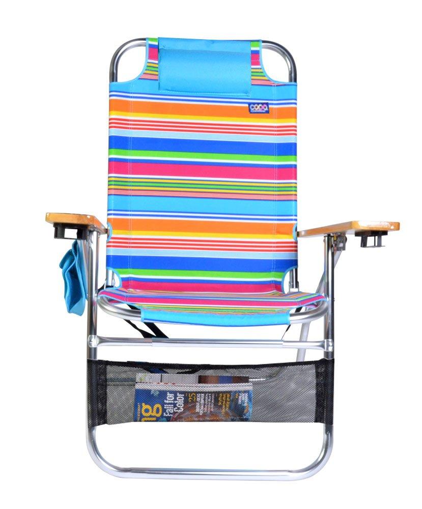 Copa Big Papa 17インチhi-seatビーチ椅子 B07BHWQKDM S18M S18M