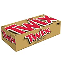 36-PK Twix Cookie Bars, Caramel Milk Chocolate 1.79oz Deals