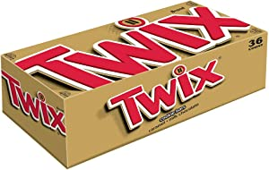 Twix Caramel Chocolate Cookie Candy Bar Singles