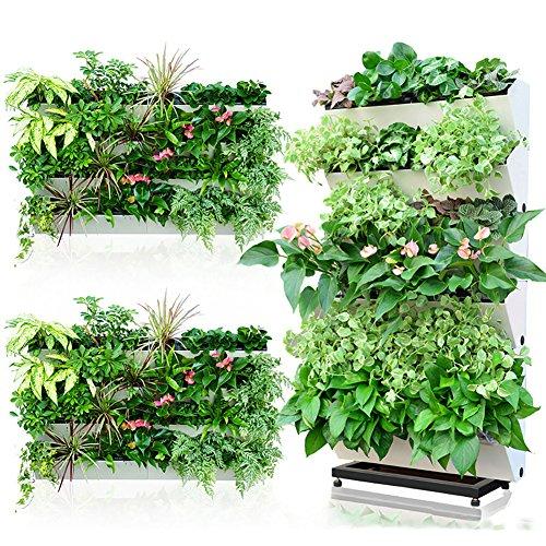 Charmant Sungmor Upmarket Self Watering Vertical Garden Planter,Wall Mounted Flower  Pots,Window Box,