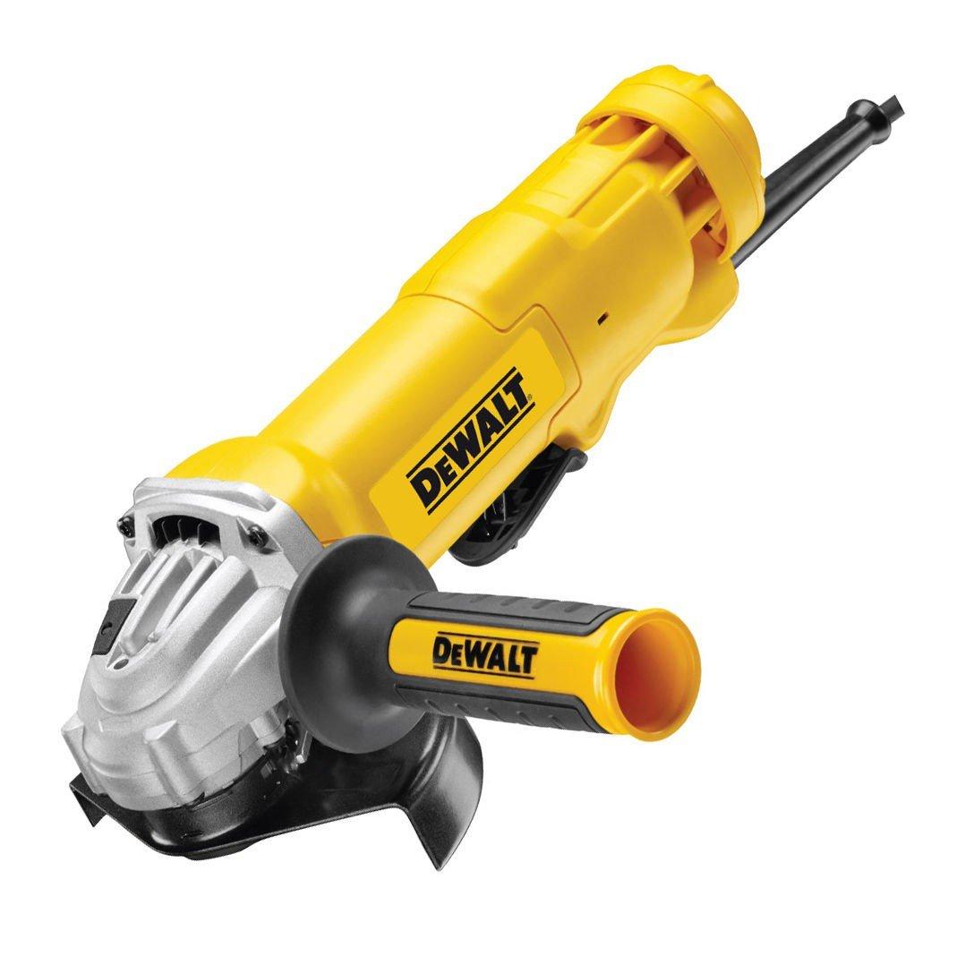 DeWalt DWE4203-QS Mini-Amoladora 125 mm 1.010W 11.000 RPM con Interruptor Hombre-Muerto