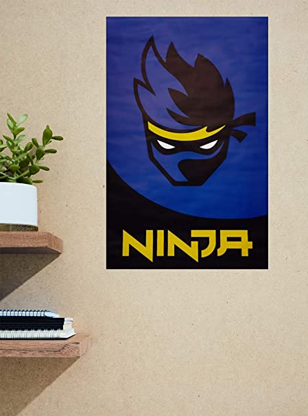 Amazon.com: Hot Topic Ninja Logo Poster: Home & Kitchen