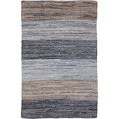 Surya DNM1000-3656 Hand Loomed Casual Accent Rug, 3-Feet 6-Inch by 5-Feet 6-Inch