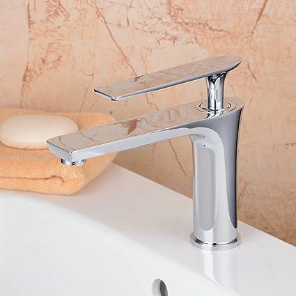 Hiendure Single Control Hole Centerset Bathroom Vanity Sink Faucet ...