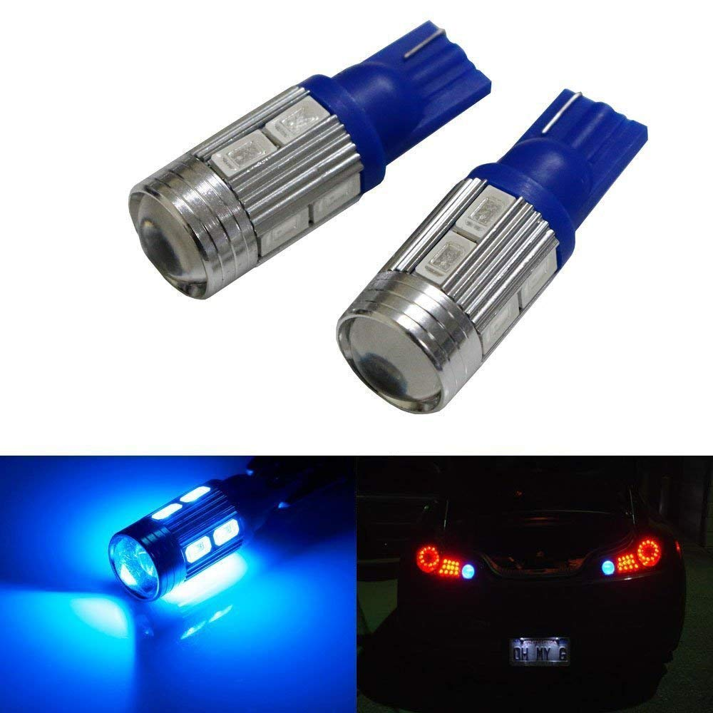 Ultra Blue JDMTOY 25-SMD-1210 912 921 906 LED Bulbs For Back Up Reverse Lights
