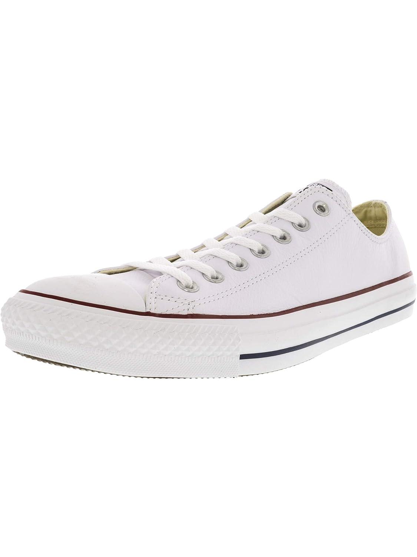 purchase cheap a7591 9abf9 Converse Chuck Taylor Core Lea Ox, scarpe da da da ginnastica Unisex adulto  B07CNF7WS2 43 EU bianca Leather   Conosciuto per la sua bellissima qualità  ...