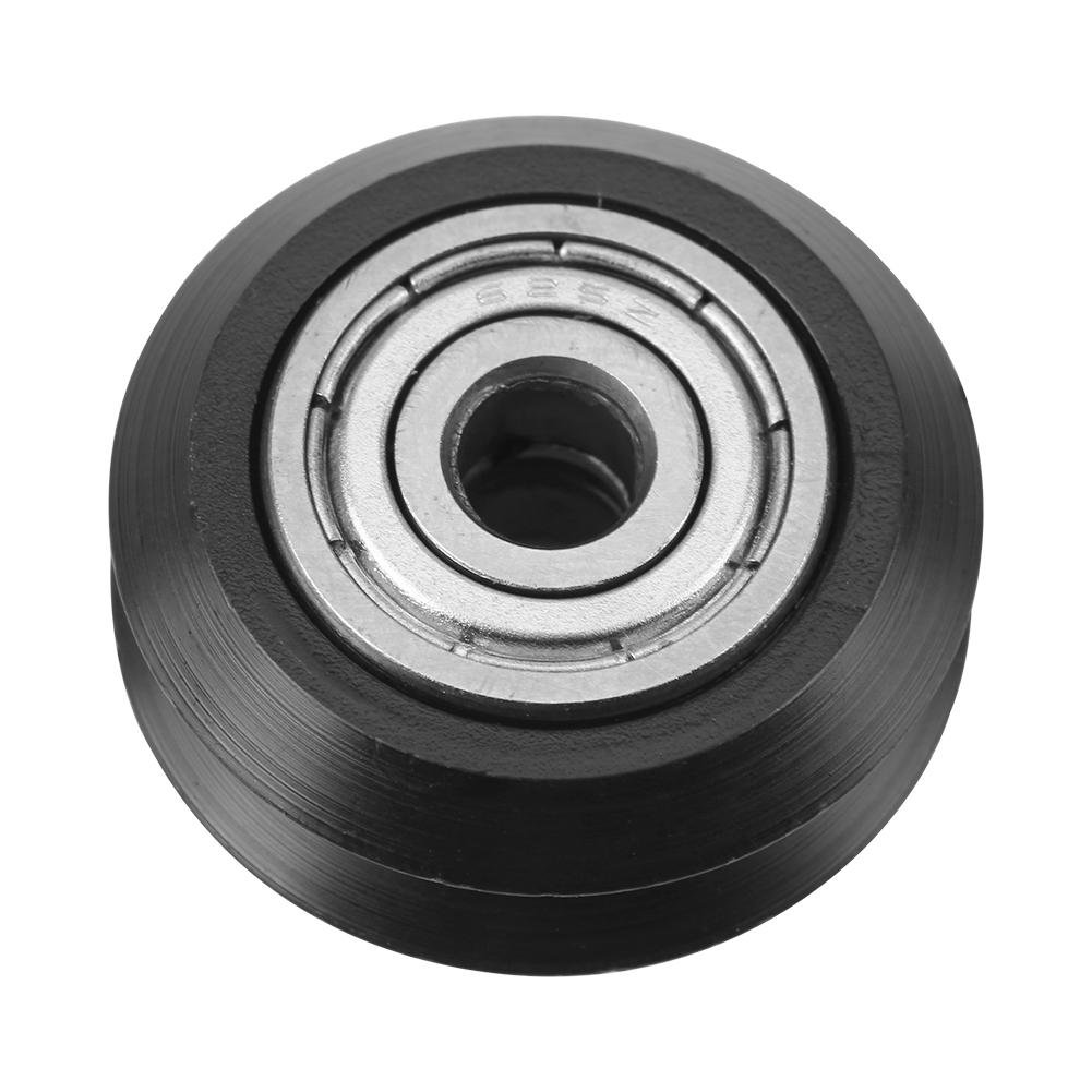 5mm Bore V Groove Bearing,20Pcs 625 Roller V Shape Groove Wheel V Groove Pulley Bearing Accessories for CNC 3D Printer