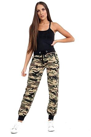 US Patrol Pantalones de Camuflaje Ajustados para Mujer, Pantalones ...