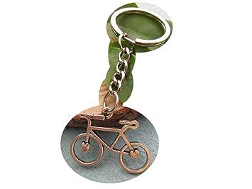 Bicicleta llavero, llavero, llavero, diseño de deporte de ...