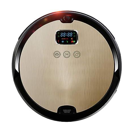 Potente Robot De Barrido De SuccióN Inteligente Hogar AutomáTico Ultrafino Silencioso Aspirador Moda Oro / 7.8