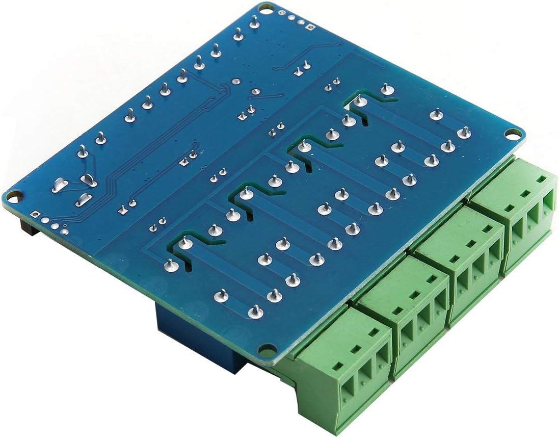 Ballylelly 1 ST/ÜCKE Modbus RTU 4 Kanal 12 V Relais Ausgangskarte Modul Schalter Eingang RS485 TTL Kommunikationsmodul