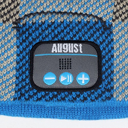 cf8f3cad92f August EPA20 - Bluetooth Beanie - Winter Beanie Hat with Bluetooth Stereo  Headphones