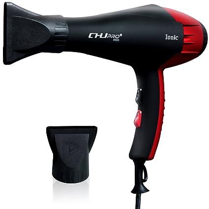 Tecnología de Iones Negativos profesional secador de pelo, 2300 W, difusor de dos extremos