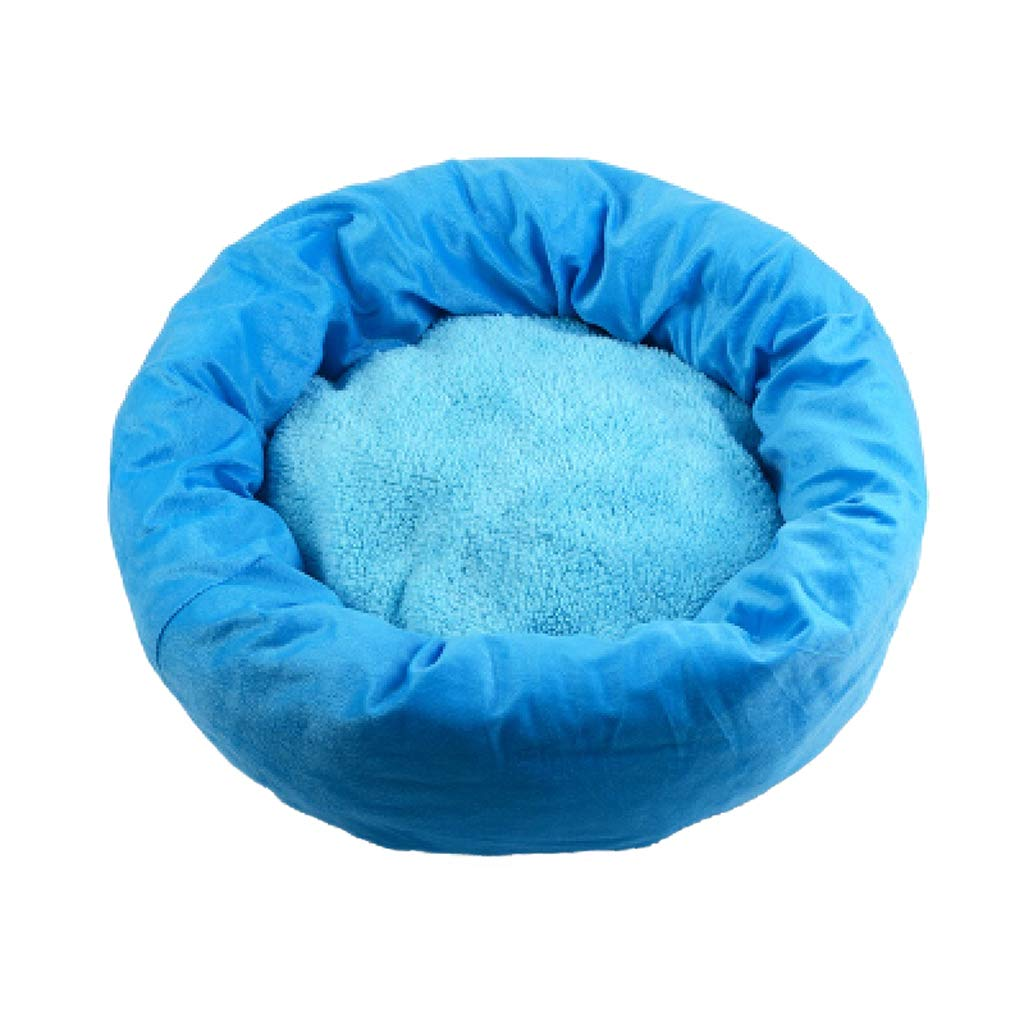 bluee XL bluee XL YIZHEN Luxurious Quality Soft And Warm Cat Bed, Universal For Four Seasons, Suitable For Small Cats And Dogs, Large Bed, Environmentally Friendly PP Cotton Padding, Cat Sleeping Bag Pet Bed,