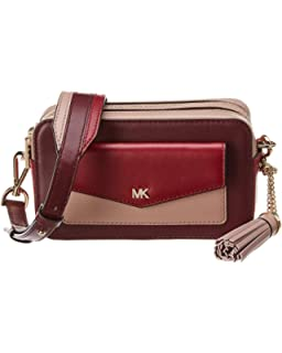 59e0b6ef33e3 Michael Michael Kors Whitney Pocket Small Leather Camera Bag ...